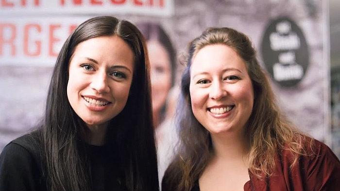 Radio Hochstift Moderatorinnen Sinah und Dania