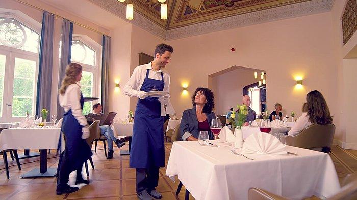 Restaurantszene im Asklepios