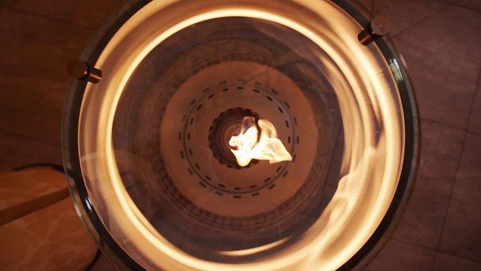 Spartherm Feuerstelle von oben