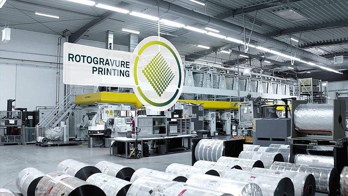 PPG Produktion von Rotogravure Printing